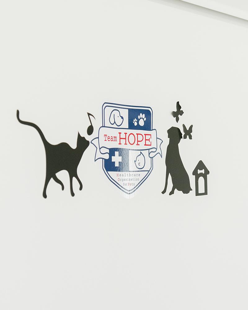Team HOPE加盟の動物病院です